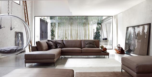 Ditre italia un divano modulare per il comfort - Divano angolare misure minime ...