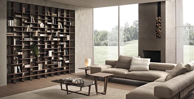 Libreria elisabeth perfetta sintesi tra forma e contenuto for Sintesi arredamenti