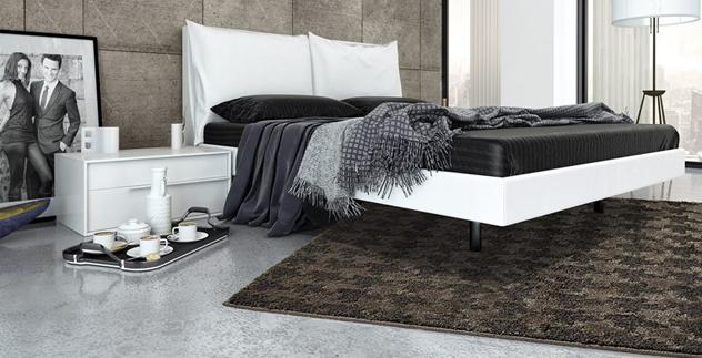 Tappeto letto idee per il design della casa - Tappeti camera da letto ikea ...