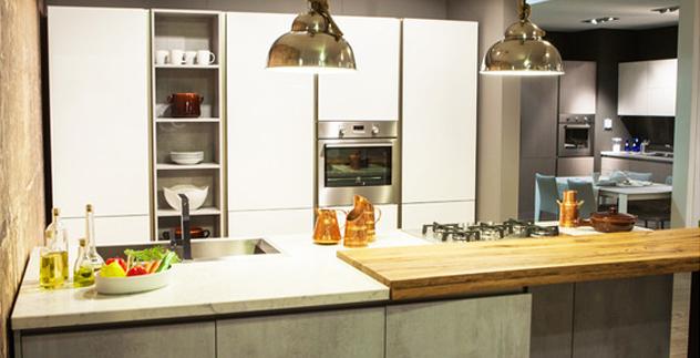Industrial chic lo stile che colonizza la cucina for Palma arredamenti