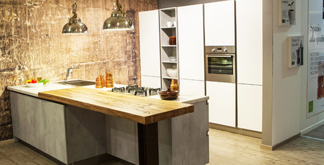 Industrial Chic: lo stile che colonizza la cucina. - Arredamenti ...