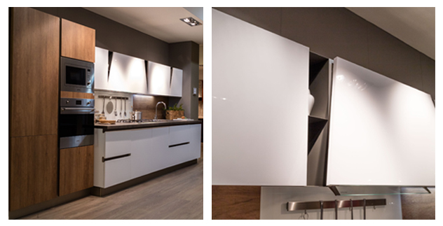 Infinity diagonal di stosa con piano hpl in stile vintage - Hpl piano cucina ...