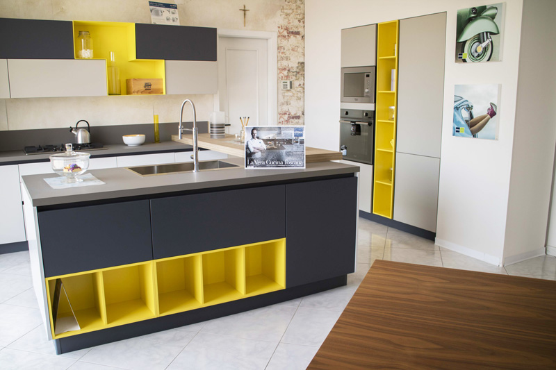 Cucina isola Alevè Stosa